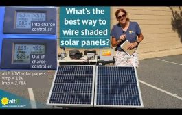 How to Wire Shaded Solar Panels...