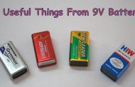 4 Useful Things From 9V  Battery || Recycle Science project ideas...