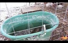 Power saving idea for stock tank heater, save energy this winter...