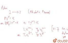 An ideal diatomic gas is caused to pass throguh a cycle shown on ...