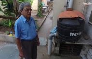 Solar Suresh: Home with solar panels, biogas plant, rainwater har...