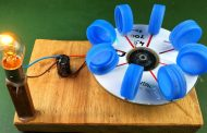 Electric Power Free Energy Generator With DC Motor 100% New Exper...