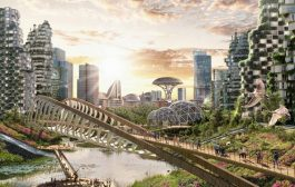 What will UK cities look like in 2100? Ben and Jerry's gazes...