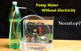 Free Energy Water Pump for Fish Tank - Without Electricity...