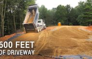ICF Mountain Homestead: Six Hundred Feet of Gravel Driveway...