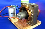 New free energy electric dc motor generator 220v AC to 12V DC - D...